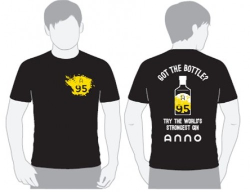 Supplying T-Shirts for Anno Distillers
