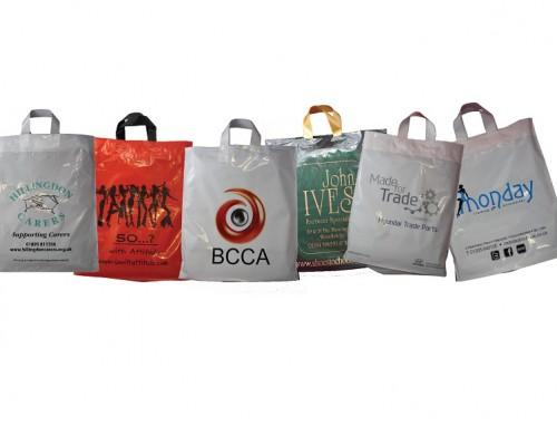 Sugar Cane Flexi Loop Carrier Bag