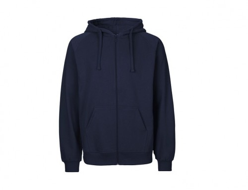 Mens Fairtrade Cotton Zip Hoodie