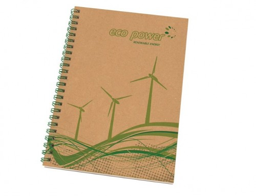 Recycled Wire Bound Notepad
