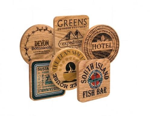 Oak Wood Coaster